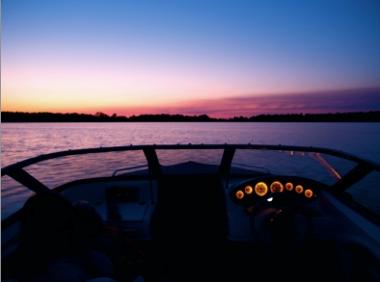 stingray sunset